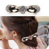 Wholesale Hairpin Rhinestone Gripper - hair accessories for women hair accessory hair accessory gripper rhinestone popular crystal hairpin