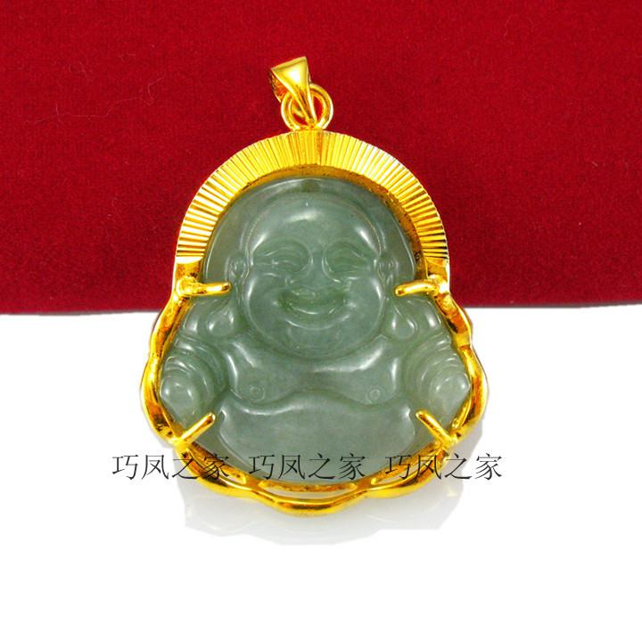 Wholesale gold pendant jade buddha pendant 24k gold bag jade large wholesale gold pendant jade buddha pendant 24k gold bag jade large pendants for necklace pendant from annestyle 300 dhgate mozeypictures Images