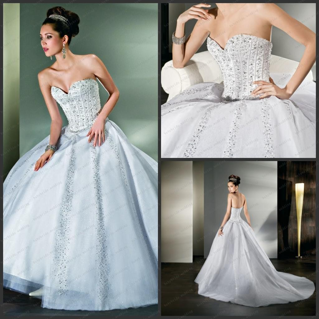 Dimitri Wedding Gowns: 2013 Demetrios Wedding Dresses Sweetheart Ball Gown Crytal