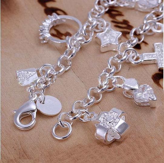 DSSB-066,hotwomen's 925 sterling silver bracelet,925 silver bracelet jewelry,