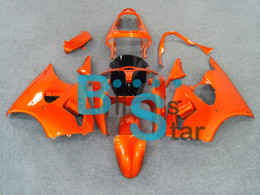 Motorcycle Fairings Kit For KAWASAKI Ninja 2000 2001 2002 ZX 6R 00 02 ZX6R 636 01 Orange Fairing 7gifts MH23