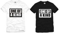 Wholesale Bigbang Logo - Free shipping new arrival hiphop tee Kpop t shirt BIGBANG BIG BANG G-DRAGON GD ONE OF A KIND LOGO Print T-shirt 100% cotton 6 colors