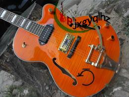 $enCountryForm.capitalKeyWord Canada - NEW custom shop 6120 jazz Electirc Guitar in Orange Musical Instruments