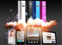 hediye gç bankası toptan satış-2200mAh Güç Bankası, Dayanıklı mobil şarj, iPhone iPod MP3 MP4 Hediyeler için Yedek Pil Şarj
