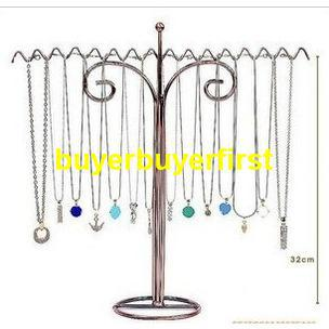 S005 Large necklace holder necklace rack jewelry holder earrings  accessories holder display rack iro