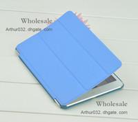 тонкий мини-планшет оптовых-Фолио кожаный чехол смарт-чехол Wake сна стенд тонкий магнитный Faux для Apple iPad Mini 7.9