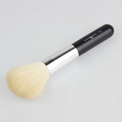 Topp hårborstar hår naturlig get hårborste 12st / ull blush borste rosa smink borstar 013