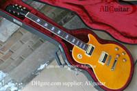 natürliche mahagoni e-gitarre großhandel-Einteiliger Satz Hals Guitar Slash Appetite Natürliche gelbe Mahagonikörper E-Gitarre