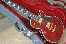 $enCountryForm.capitalKeyWord Canada - New Style custom shop Dark red ebony fingerboard electric guitar gold hardware