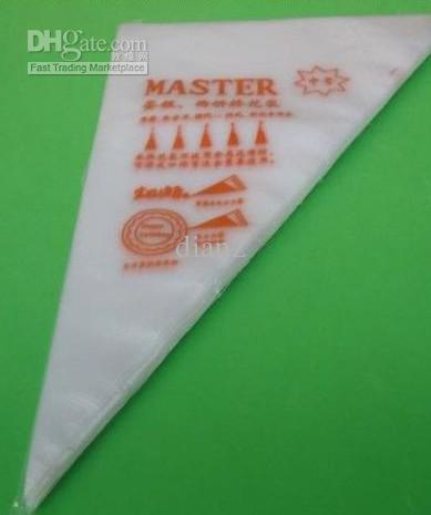 Piping Tassen Gebak Tool Decorating Tassen Clear Plastic Pastry Bag Cake Icing