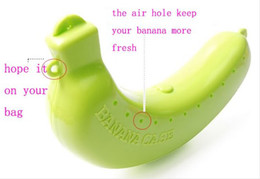 Wholesale Banana Container - Banana Guard Container Storage Lunch Fruit Protector Plastic Box Banana Case