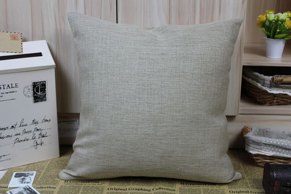 top popular Customized Cotton Linen Pillow Cover Cushion Cover Free shipping Order to make Link 2019
