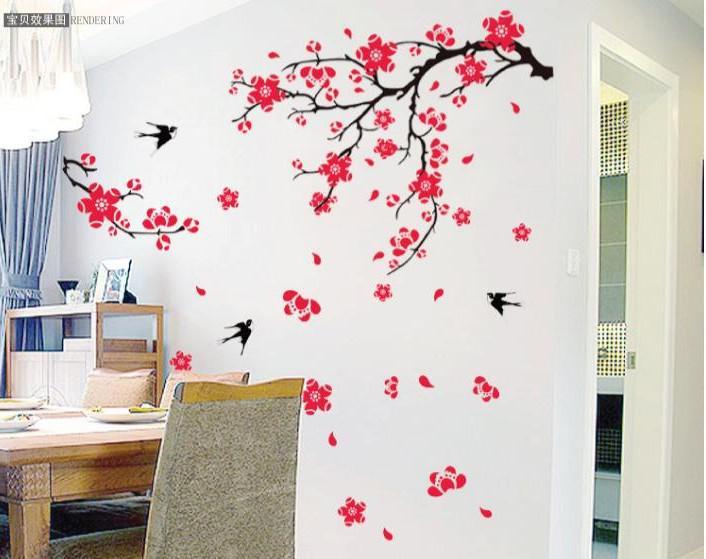 Nice Living Room Wall Art Stickers Design