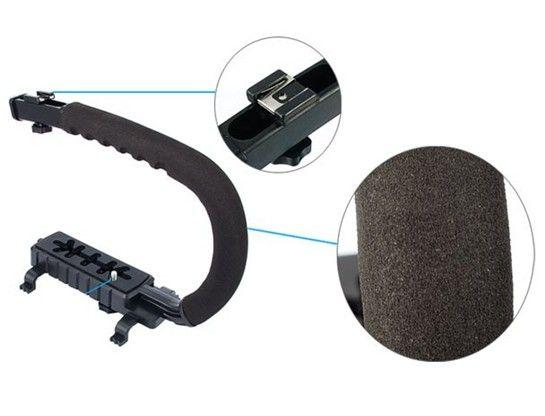 C Form Flash Bracket Stand Grip Halter für DV Camcorder DC DSLR Kamera C-Shape Bracket