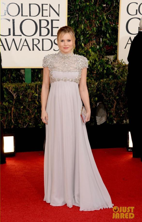 Kristen Bell Luxury Crystals Celebrity Inspired Party Dress Designer ...