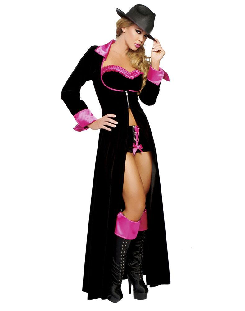 Cosplay Sexy Halloween Costumes For Women Magnificent Sassy Pimp ...
