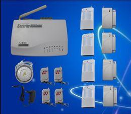 Auto Security Alarms Canada - GSM Alarm Intelligent Alarm System Auto Dial for Home Security, Wireless Burglar Alarm System S201