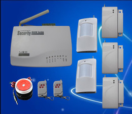 gsm auto security system Coupons - Intelligent Wireless Burglar GSM Alarms System Auto Dial Home Property Security Alarm System S205