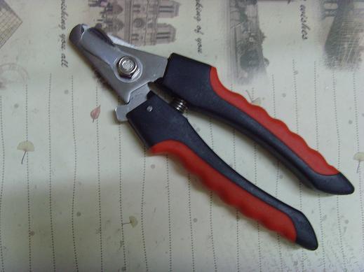犬と猫の指プライヤーの指は鋏ネイルクリッパーペットのネイルはさみ2色無料の取得ファイル