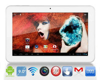 Wholesale Sanei N91 Inch Tablet - 9 inch Sanei N91 Elite Android 4.0 Tablet PC Allwinner A13 1GHz 8GB Wifi Dual Camera