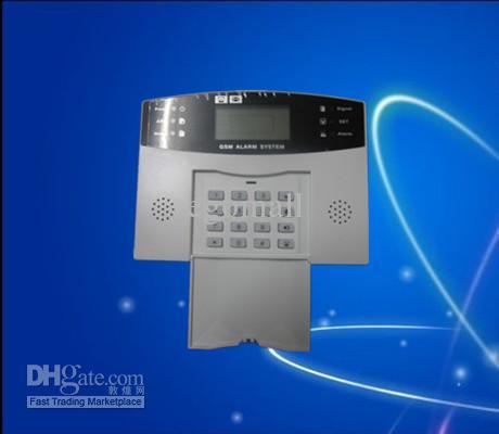 Высокое качество GSM беспроводной охранной сигнализации Главная системы безопасности Голос + ЖК-авто Dialer S214