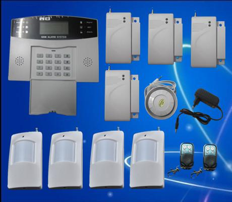 New Popular GSM Wireless Burglar Alarm Home Security Systems + LCD Auto Dialer S212