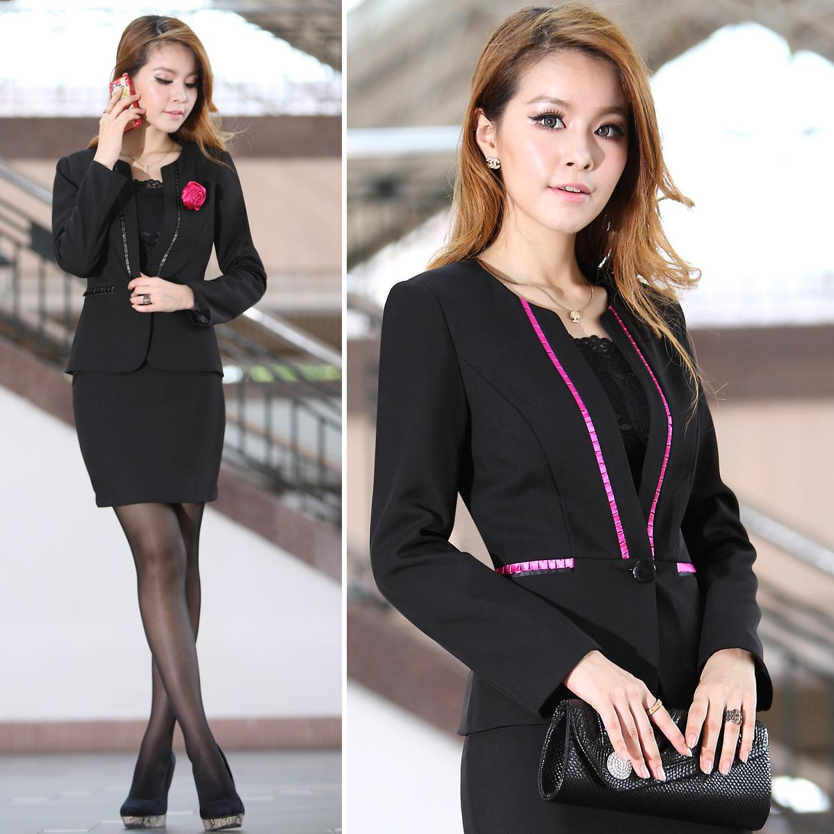 Factory Price Office Lady Suits Professional Women S Work Uniforms