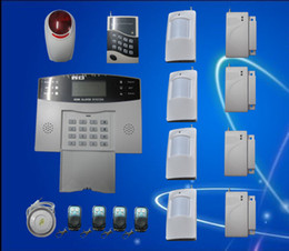 gsm auto security system Promo Codes - Security Guard Wireless Intelligent Mobile Call GSM Burglar Alarm System Auto-Dial Listen S213