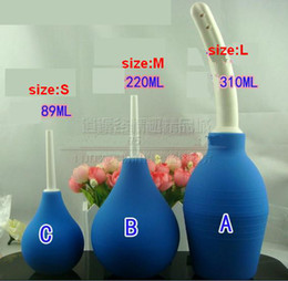 Wholesale Enema Adult - New Enemator For Cleaning Anus Butt Vaginal Enema Adult Anal Sex Toys For Women bdsm Sex Products 4 Model