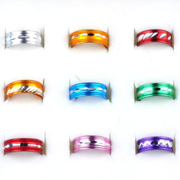 Wholesale Cheap Wholesale Jewelry Free Shipping - Brand New 2000pcs Top Mixed Aluminum Rings Fashion Jewelry lot Cheap and Cute Ring Free Shipping[RA01*2000]