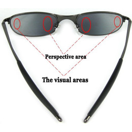 Wholesale Spy Rear View Sunglasses - Fashion Anti-Tracking Spy Rear-view Sunglasses with UV Protection