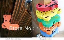 Wholesale Protect Animals - Child kids Baby Animal Cartoon Jammers Stop Door stopper holder lock Safety Guard Finger Protect