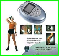 körper abnehmen pulsierende maschine großhandel-35 teile / los Brennen Fett GYM Muscle Massager Abnehmen Maschine Elektronische Puls Massagegerät Kostenloser Versand