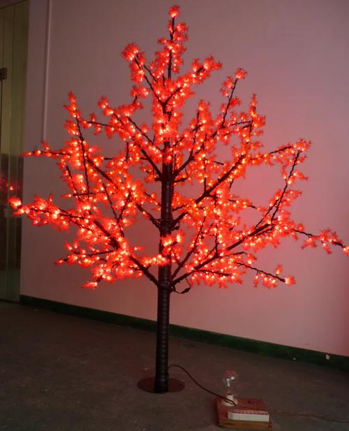 Superb 2018 Ac110 240v 1.8m Outdoor Artificial Red Pine Trees Led Lighted Tree  Lights For Home Garden Decorations From Sandraliansun, $332.04 | Dhgate.Com