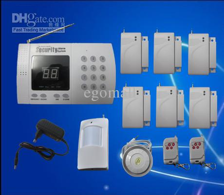 Новый беспроводной домашней системы безопасности сигнализация / авто-дозвона завод продаж быстрая доставка S217