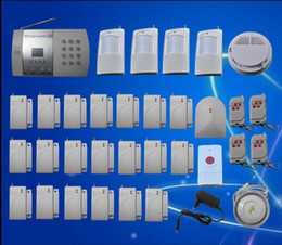 Intruder securIty systems online shopping - 20 Door Window Detector Home Security Alarm System Kit Auto Dial Burglar Intruder Alarm Systems S216