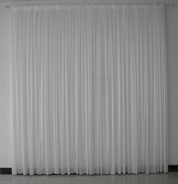 3m3m White Color High Quality Ice Silk Wedding Backdrop Curtain Online With 8744 Piece On Yoyoweddingevents Store