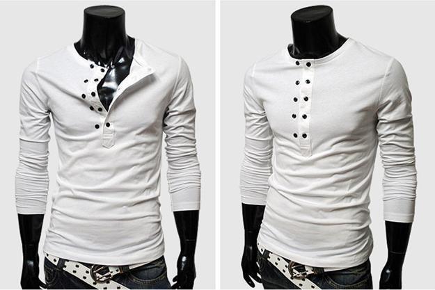 Wholesale New 2013 Mens T Shirts Hot Sell Casual Slim Stylish Slim ...