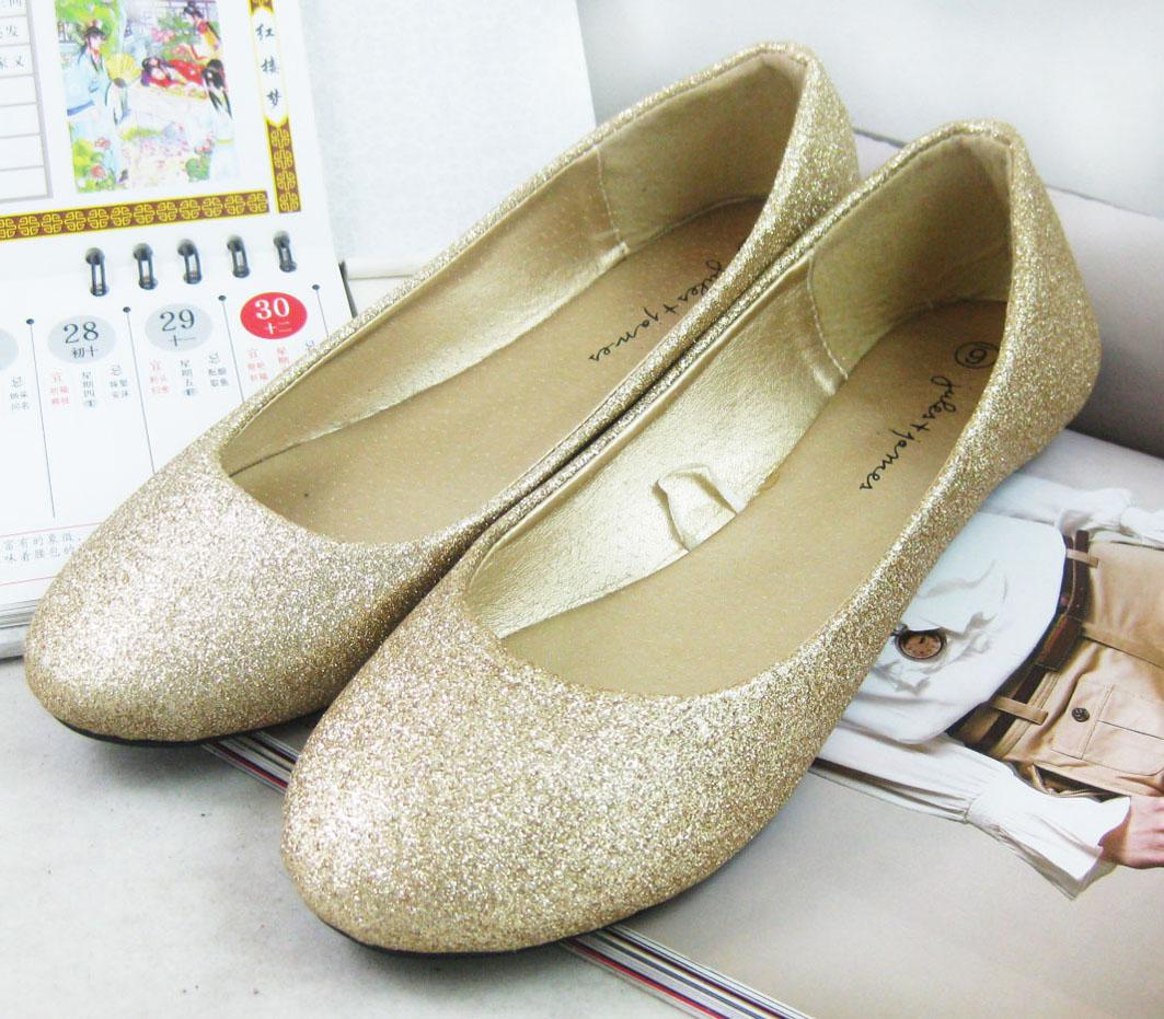 f7e5602f611e Fashion Women Glitter Shoes Flat Casual Ballet Shoes Retail And Wholesales  Hiking Shoes Prom Shoes From Cbxexport