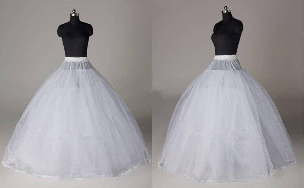 3 Hoops 3 Layers Big Ball Gown Petticoat Underskirt Bridal Wedding ...