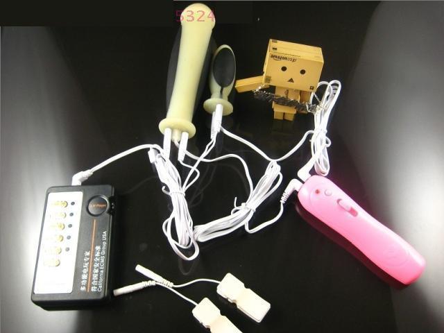 Shock Therapy Massager Kit Trillingsnippel Klemmen Defibrillator voor Glans Electro E-stimulatie BDSM Adult Sex Games Toy Product
