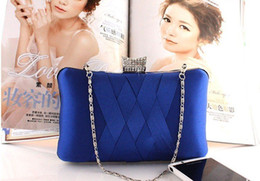 Wholesale Gentle Pink - 2013 Evening Bag , Clutch bags , Bride Bag Purse , Designer Gentle Pearl Inlay full dress Party hand