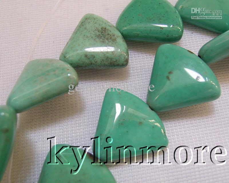 8SE06516a 16x18mm Chrysotine Fan Beads 15.5 ''