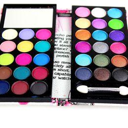 Wholesale Wine Pearls Wholesale - Eyeshadow Palette Eye shadow Palette 15 Matte+18 Pearl 24pcs lot 33 color Matte Shdow Makeup Kit 8814A