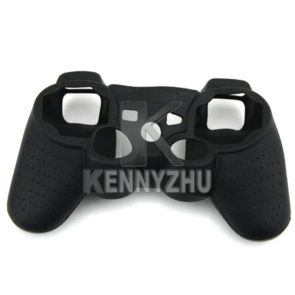 Gemengde kleuren Cool Silicone Sleeve Protector Cover Case voor Sony PlayStation PS3 Game Controller Gamepad