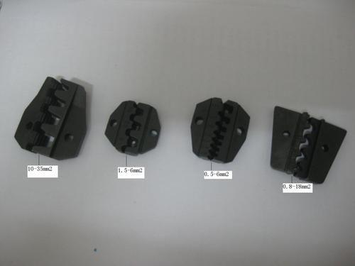0.5-35mm2 Crimping Tool Crimper Crimp Twiers Set med 4 reservdål