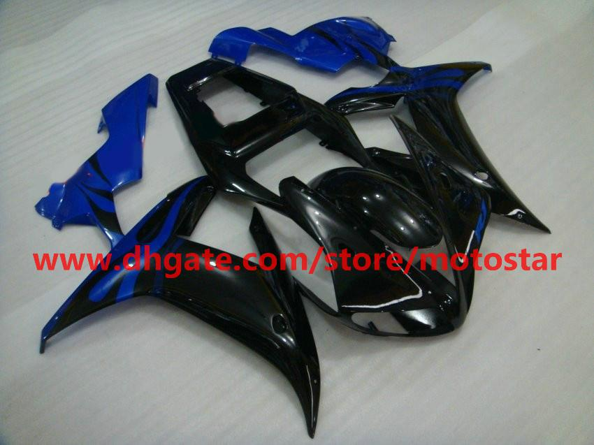 Blue black fairings For YAMAHA 2002 2003 YZF-R1 02 03 YZFR1 YZF1000 YZF R1 full fairing kit R1G3