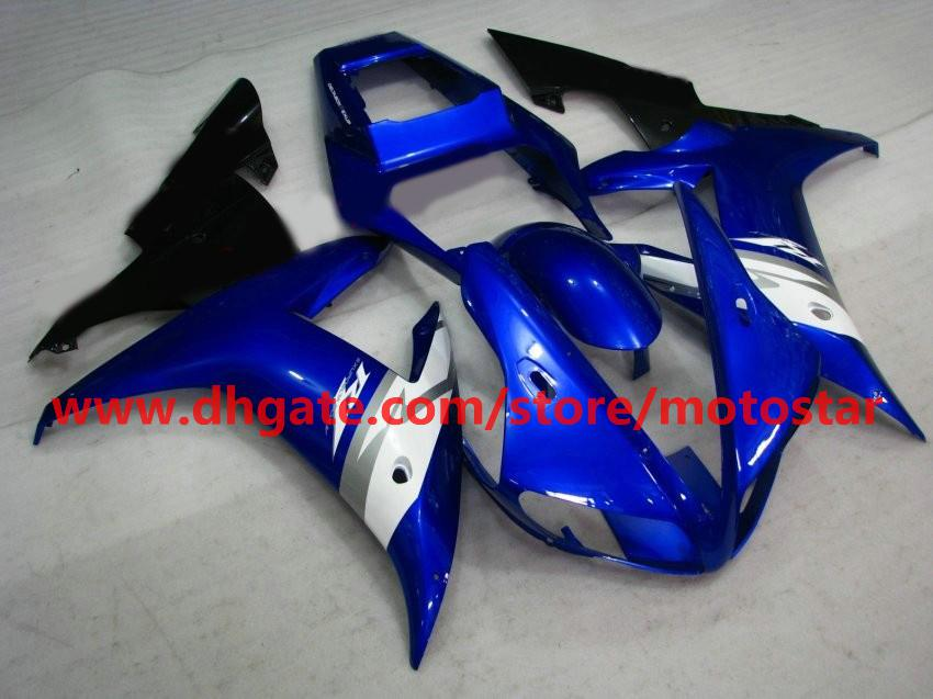 blue brand new fairings fit for YAMAHA 2002 2003 YZF-R1 02 03 YZFR1 YZF1000 YZF R1 fairing kit R1U3