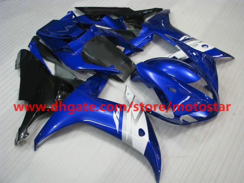 Injection molded fairings for YAMAHA 2002 2003 YZF-R1 02 03 YZFR1 YZF R1 accept custom any color