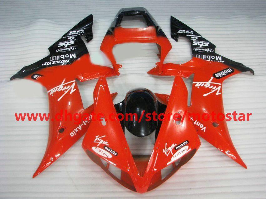 Orange-ren fairings fit for YAMAHA 2002 2003 YZF-R1 02 03 YZFR1 YZF1000 YZF R1 fairing kit